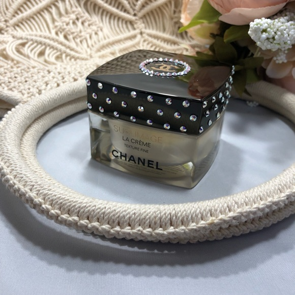 CHANEL Accessories - Swarovski embellished empty Chanel container
